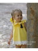 Jesusito niña amarillo Pin y Pon de Lapeppa