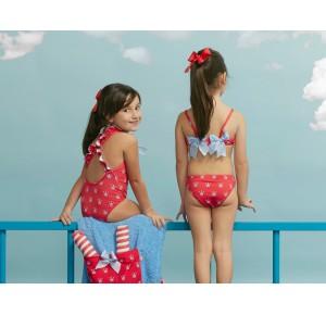 Bikini niña Coronas de Eva Castro