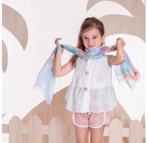 Short niña lentejuelas rosa Arco Iris de Kauli