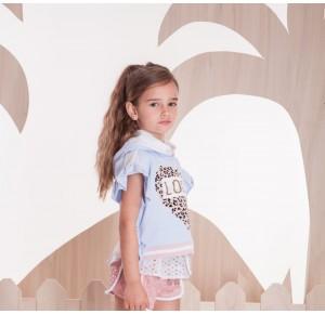 Sudadera niña lentejuelas Arco Iris de Kauli
