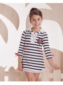 Vestido niña marinero Piknik de Kauli