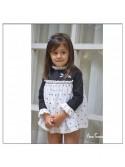 Jesusito niña Lyra de Noma Fernández blanco y negro