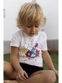 Conjunto niño camiseta rock y bombacho de Mon Petit
