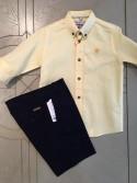 Camisa Lambada de Nachete amarilla